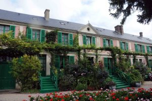 Monet's home at Giverny