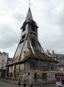 Honfleur's wooden church.