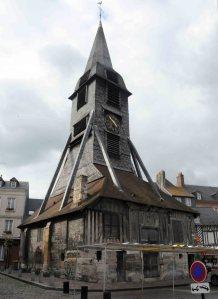 Honfleur's wooden church.