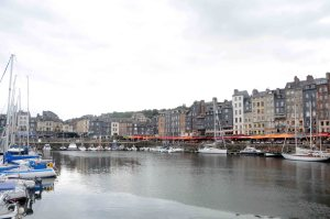Honfleur's port.