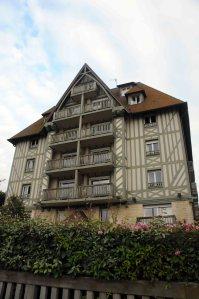 A Deauville mansion near the beach.
