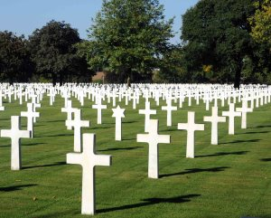 American Cemetery at Brittany.