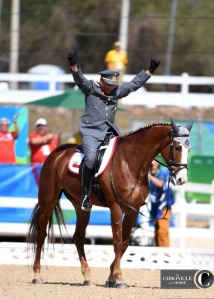 Chile's Carlos Lobos Munoz and Ranco were another inspirational pair at the Olympics.