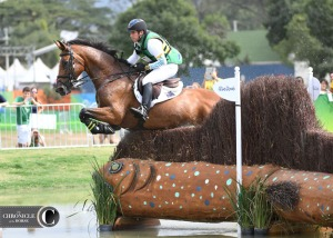 Sam Griffiths and Paulank Brockagh were another inspirational pair at the Olympics. Such a game mare!
