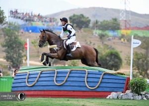 Just a pretty photo of Michael Jung and Sam on their way to Olympic gold!