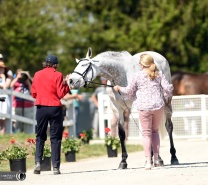 Sharon White's Cooley On Show hammed it up at the Rolex jog.