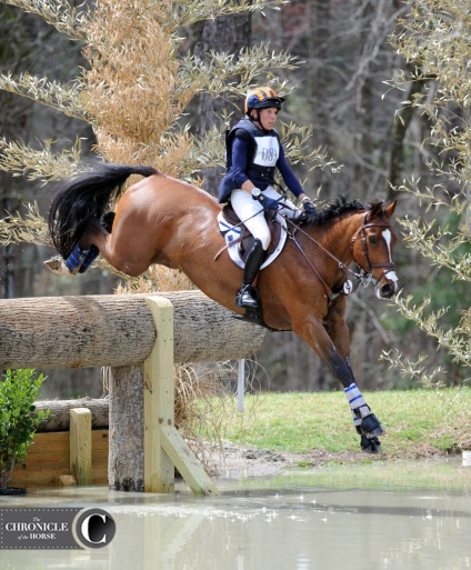 The water shot beautifully at Carolina International this year. Liz Halliday-Sharp and Deniro Z tackled this huge drop with style.