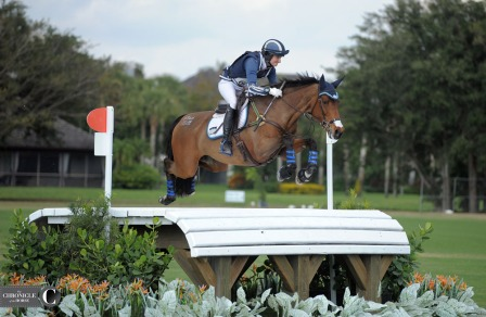 Jennie Brannigan's I Bella gave this table at the Wellington Eventing Showcase plenty of air.
