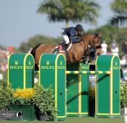 I didn't shoot much show jumping this year, but I got this nice photo of Kent Farrington and Gazelle in Wellington.