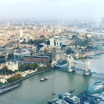 View from The Shard.