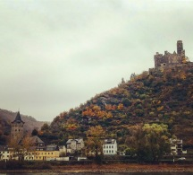 Crusing on the Rhine