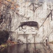 Lion monument, Lucerne.