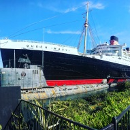 The Queen Mary, Long Beach.
