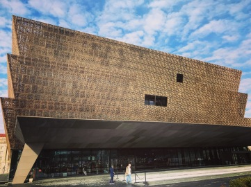 I visited the African American History Museum in DC with my parents in January