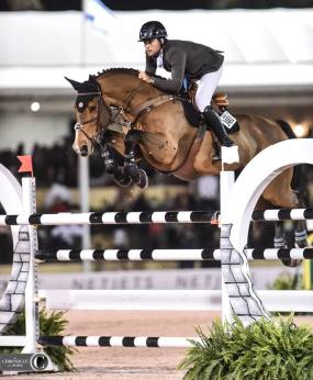 Daniel Bluman won the big CSI***** Grand Prix.