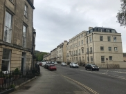 The view from our street in Bath