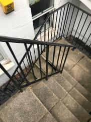 The steps were a bit treacherous to our basement apartment!