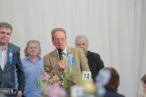 Badminton director Hugh Thomas.