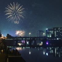 Celebrating Guy Fawkes' Night in Glasgow