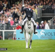 Oliver Townend at Badminton.